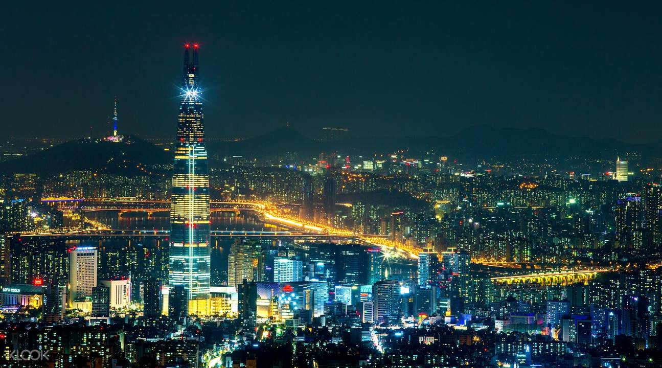 view from lotte world tower